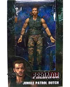 NECA PREDATORS 7インチアクションフィギュア PREDATOR 30TH ANNIVERSARY JUNGLE PATROL DUTCH