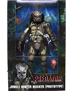 NECA PREDATORS 7インチアクションフィギュア PREDATOR 30TH ANNIVERSARY JUNGLE HUNTER MASKED (PROTOTYPE)