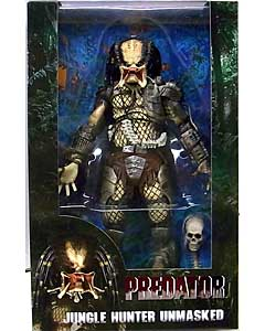 NECA PREDATORS 7インチアクションフィギュア PREDATOR 30TH ANNIVERSARY JUNGLE HUNTER UNMASKED
