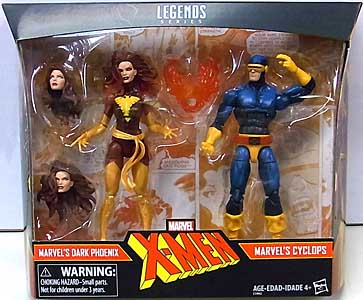 HASBRO MARVEL LEGENDS 2017 2PACK DARK PHOENIX & CYCLOPS