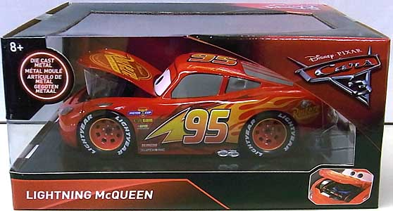 JADA TOYS CARS 3 METALS DIE CAST 1/24スケール LIGHTNING McQUEEN