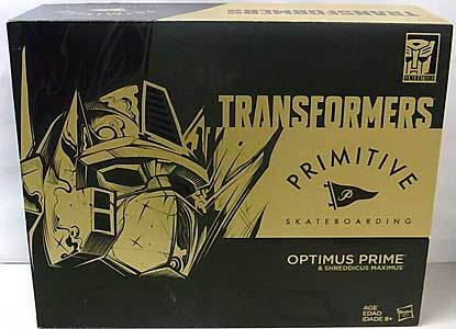 2017年 サンディエゴ・コミコン限定 HASBRO TRANSFORMERS GENERATIONS PRIMITIVE SKATEBOARDING OPTIMUS PRIME & SHREDDICUS MAXIMUS