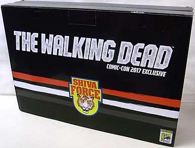 2017年 サンディエゴ・コミコン限定 McFARLANE TOYS THE WALKING DEAD COMIC 5インチアクションフィギュア SHIVA FORCE 4PACK