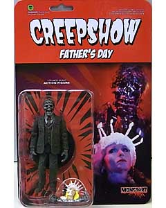 AMOK TIME MONSTARZ 3.75インチアクションフィギュア CREEPSHOW FATHER'S DAY NATHAN GRANTHAM