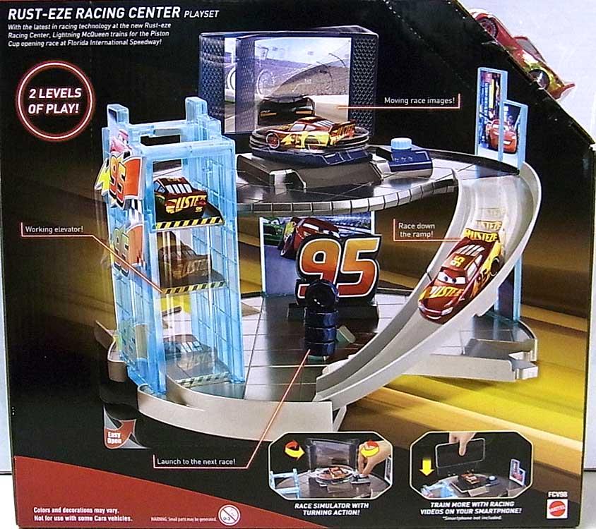 MATTEL CARS 3 PLAYSET RUST-EZE RACING CENTER