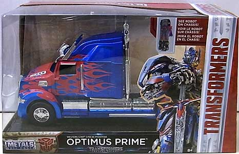 JADA TOYS METALS DIE CAST 1/24スケール 映画版 TRANSFORMERS: THE LAST KNIGHT OPTIMUS PRIME [WESTERN STAR 5700 XE PHANTOM] パッケージワレ特価