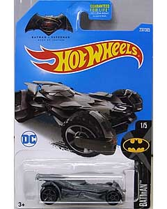 MATTEL HOT WHEELS 1/64スケール 2017 BATMAN BATMAN V SUPERMAN: DAWN OF JUSTICE BATMOBILE #237