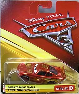 MATTEL CARS 3 シングル RUST-EZE RACING CENTER LIGHTNING McQUEEN 台紙傷み特価