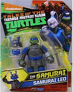 PLAYMATES NICKELODEON TALES OF THE TEENAGE MUTANT NINJA TURTLES ベーシックフィギュア 2017 THE SAMURAI SAMURAI LEO
