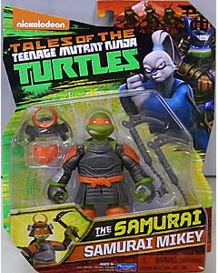 PLAYMATES NICKELODEON TALES OF THE TEENAGE MUTANT NINJA TURTLES ベーシックフィギュア 2017 THE SAMURAI SAMURAI MIKEY