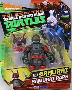 PLAYMATES NICKELODEON TALES OF THE TEENAGE MUTANT NINJA TURTLES ベーシックフィギュア 2017 THE SAMURAI SAMURAI RAPH ブリスター傷み特価
