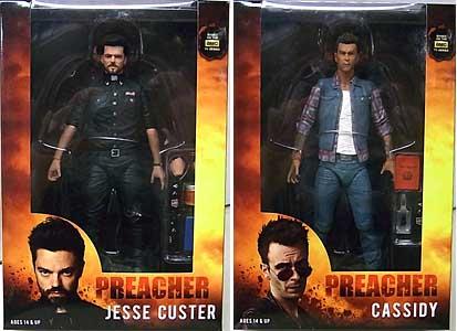 NECA PREACHER 7インチアクションフィギュア JESSE CUSTER & CASSIDY 2種セット