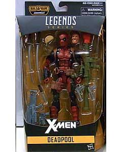 HASBRO MARVEL LEGENDS 2016 X-MEN SERIES 1.0 DEADPOOL [JUGGERNAUT SERIES] パッケージ傷み特価