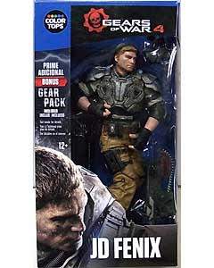 McFARLANE GEARS OF WAR 4 COLOR TOPS: BLUE WAVE 7インチアクションフィギュア JD FENIX