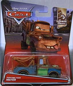 MATTEL CARS 2017 シングル FIGHTING FACE MATER