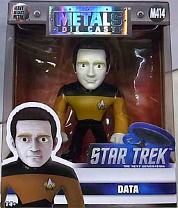 JADA TOYS STAR TREK THE NEXT GENERATION METALS DIE CAST 4インチフィギュア DATA