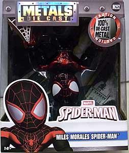 JADA TOYS SPIDER-MAN METALS DIE CAST 4インチフィギュア MILES MORALES SPIDER-MAN
