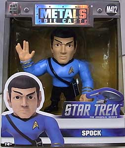 JADA TOYS METALS DIE CAST 4インチフィギュア STAR TREK THE ORIGINAL SERIES SPOCK