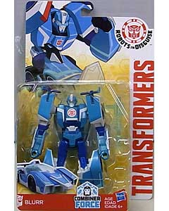 HASBRO アニメ版 TRANSFORMERS ROBOTS IN DISGUISE COMBINER FORCE WARRIOR CLASS BLURR 台紙傷み特価