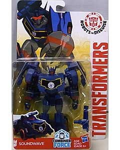 HASBRO アニメ版 TRANSFORMERS ROBOTS IN DISGUISE COMBINER FORCE WARRIOR CLASS SOUNDWAVE 台紙傷み特価