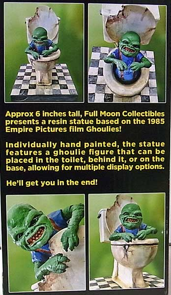 FULL MOON GHOULIES DELUXE ADJUSTABLE STATUE