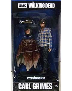 McFARLANE TOYS THE WALKING DEAD TV COLOR TOPS: BLUE WAVE 7インチアクションフィギュア CARL GRIMES パッケージ傷み特価