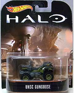MATTEL HOT WHEELS 1/64スケール 2017 RETRO ENTERTAINMENT HALO UNSC GUNGOOSE