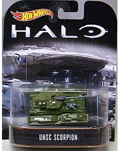 MATTEL HOT WHEELS 1/64スケール 2017 RETRO ENTERTAINMENT HALO UNSC SCORPION