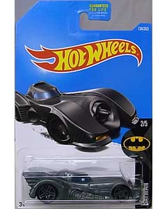 MATTEL HOT WHEELS 1/64スケール 2017 BATMAN BATMAN 1989 BATMOBILE #134