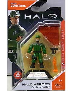 MEGA CONSTRUX HALO HEROES SERIES 4 CAPTAIN CUTTER