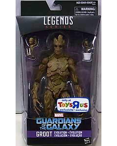 HASBRO MARVEL LEGENDS 2017 USA TOYSRUS限定 映画版 GUARDIANS OF THE GALAXY GROOT EVOLUTION