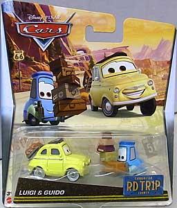 MATTEL CARS 2017 ROAD TRIP シングル LUIGI & GUIDO