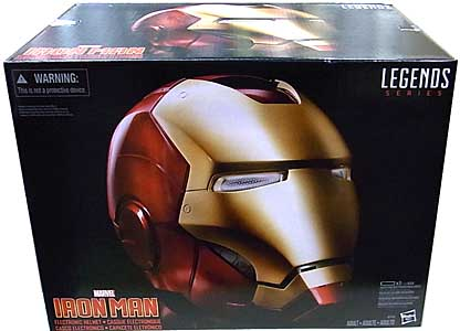 HASBRO MARVEL LEGENDS 2017 IRON MAN ELECTRONIC HELMET