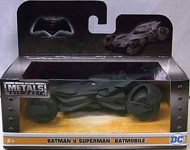 JADA TOYS BATMAN V SUPERMAN: DAWN OF JUSTICE METALS DIE CAST 1/32スケール BATMOBILE