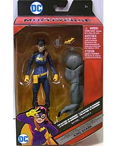 MATTEL DC COMICS MULTIVERSE 6インチアクションフィギュア THE BATGIRL OF BURNSIDE BATGIRL [KING SHARK SERIES]