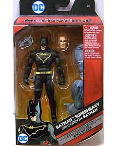 MATTEL DC COMICS MULTIVERSE 6インチアクションフィギュア BATMAN: SUPERHEAVY JIM GORDON BATMAN [KING SHARK SERIES]