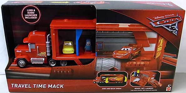 MATTEL CARS 3 PLAYSET TRAVEL TIME MACK