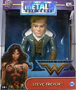 JADA TOYS 映画版 WONDER WOMAN METALS DIE CAST 4インチフィギュア STEVE TREVOR
