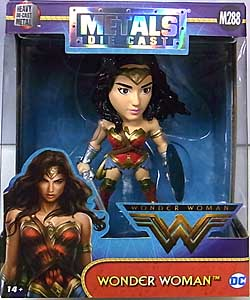 JADA TOYS 映画版 WONDER WOMAN METALS DIE CAST 4インチフィギュア WONDER WOMAN