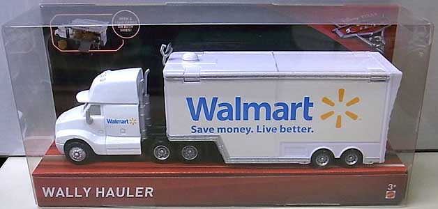 MATTEL CARS 3 HAULER WALLY HAULER
