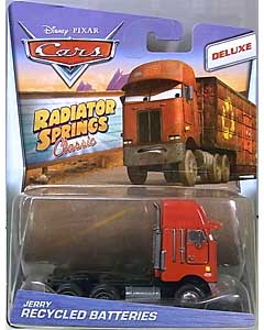 MATTEL CARS 2017 RADIATOR SPRINGS CLASSIC DELUXE JERRY RECYCLED BATTERIES 台紙傷み特価