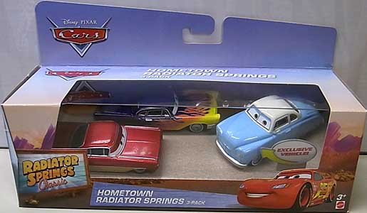 MATTEL CARS 2017 RADIATOR SPRINGS CLASSIC 3PACK HOMETOWN RADIATOR SPRINGS