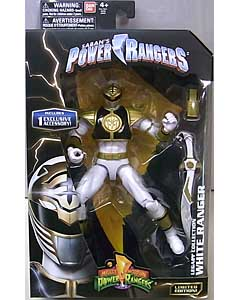 USA BANDAI POWER RANGERS LEGACY COLLECTION 6インチアクションフィギュア MIGHTY MORPHIN WHITE RANGER