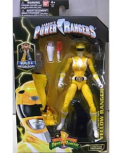 USA BANDAI POWER RANGERS LEGACY COLLECTION 6インチアクションフィギュア MIGHTY MORPHIN YELLOW RANGER パッケージ傷み特価