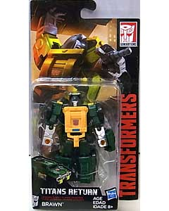 HASBRO TRANSFORMERS GENERATIONS TITANS RETURN LEGENDS BRAWN