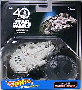 MATTEL HOT WHEELS STAR WARS 40TH ANNIVERSARY DIE-CAST VEHICLE MILLENNIUM FALCON