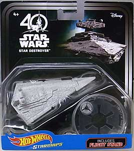 MATTEL HOT WHEELS STAR WARS 40TH ANNIVERSARY DIE-CAST VEHICLE STAR DESTROYER 台紙破れ特価