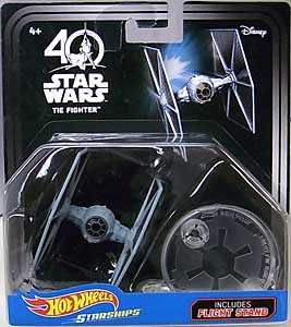 MATTEL HOT WHEELS STAR WARS 40TH ANNIVERSARY DIE-CAST VEHICLE TIE FIGHTER