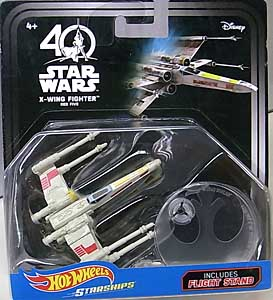 MATTEL HOT WHEELS STAR WARS 40TH ANNIVERSARY DIE-CAST VEHICLE X-WING FIGHTER RED FIVE