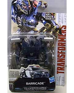 HASBRO 映画版 TRANSFORMERS: THE LAST KNIGHT LEGION CLASS BARRICADE 台紙傷み特価